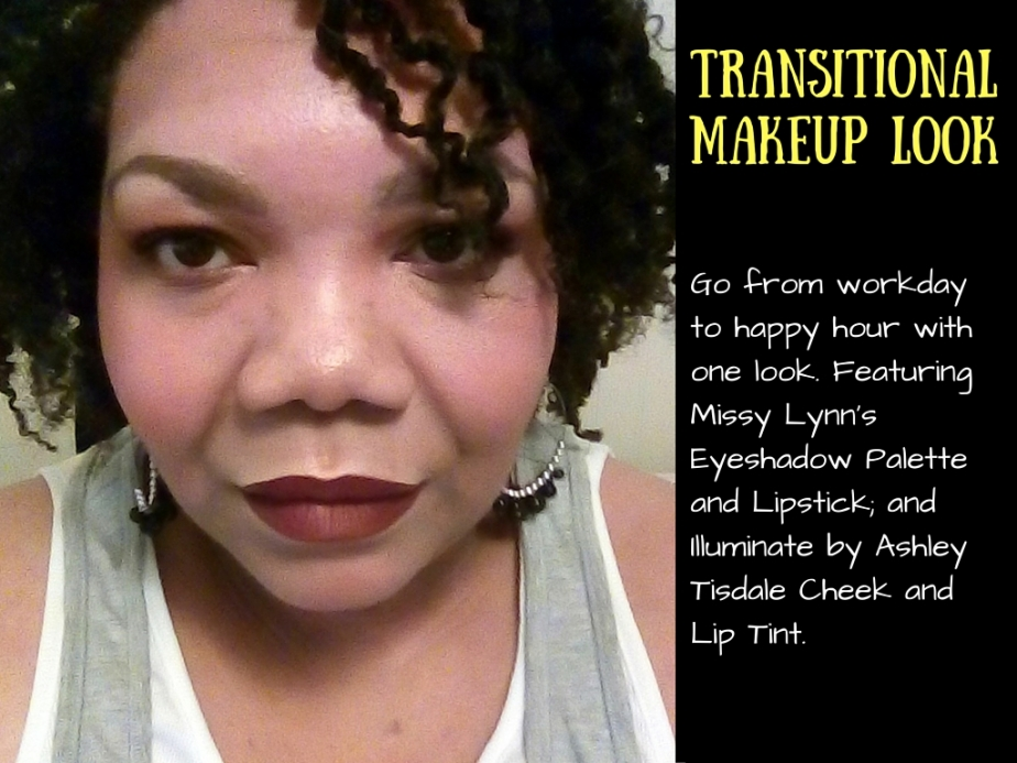 One Makeup Look to Take You From Work toPlay